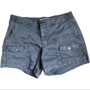 Sonoma size 12 gray shorts cargo style pockets